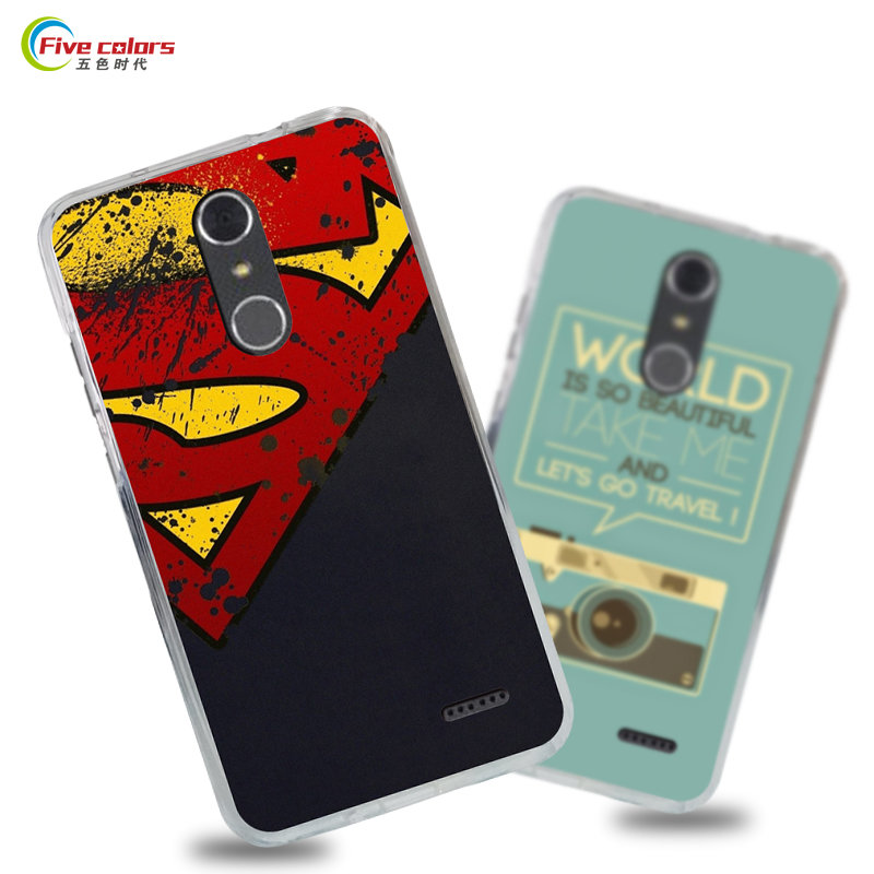 reputable site f5d29 c9bbf US $3.99 20% OFF|ZTE Grand X4 Case Cover Luxury Silicone TPU Soft Fashion  Style Cute Cartoon Painting Case Cover For ZTE Grand X4 Z956 Phone Capa-in  ...