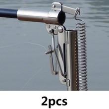 2 stks / partij Rvs Automatische Hengel 2.1 m 2.4 m 2.7 m 3.0 m FRP Zee Hengel (Zonder Reel) in Bulk Prijs