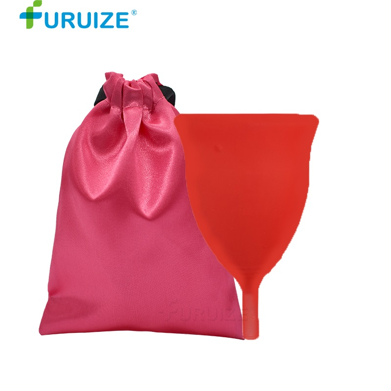 Furuize Menstrual cup Wholesale Reusable Medical Grade Silicone Lady Cup copa menstrual Feminine Hygiene For Women Menstruation