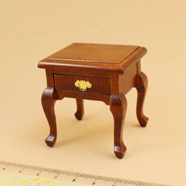 1:12 Cute MINI Dollhouse Miniature Bedside Table