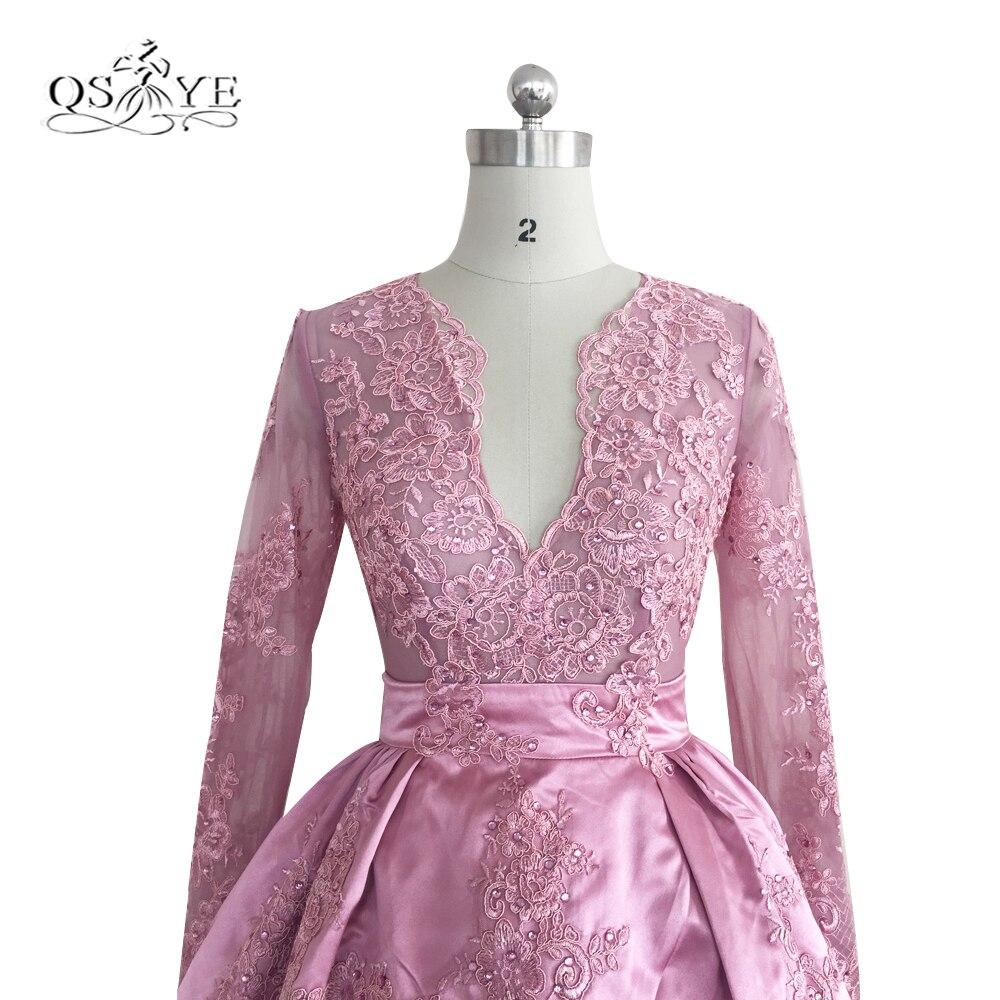 Vintage rosa Encaje corto vestido de fiesta de cuentas Vestidos de ...