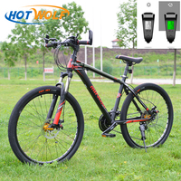 Mountain bike aluminum mountain bike 27 speed change bicycle LED intelligent biking mountain bike Simo transmission bicycle