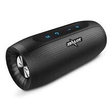 Zélot S16 Super basse Bluetooth haut parleur sans fil stéréo barre de son AUX TF carte jouer mains libres en plein air avec Microphone
