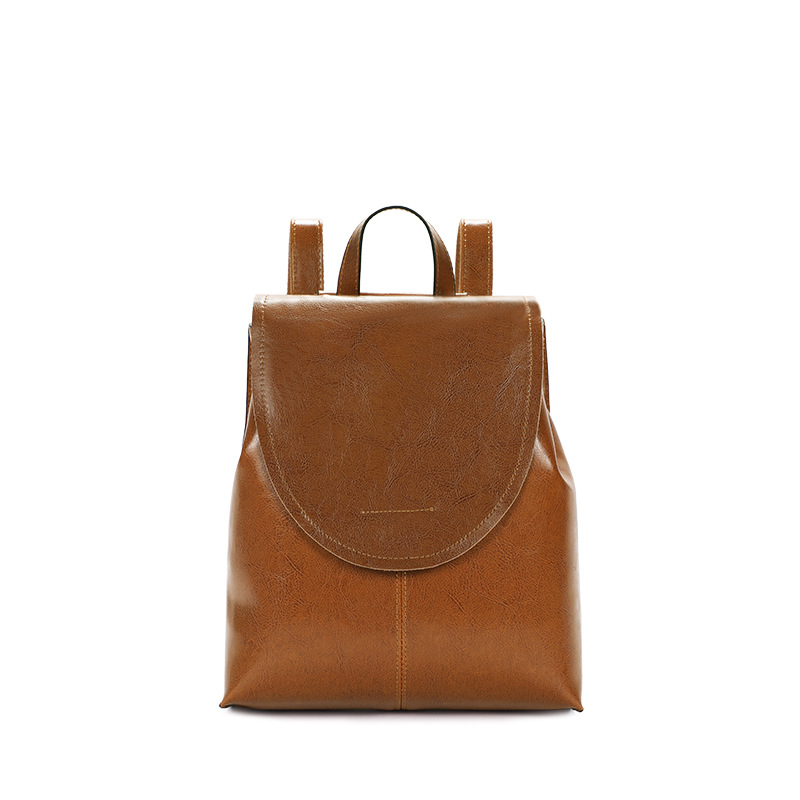 7964-D New Fashion Cowhide Leather womens double shoulder bag Ladies multi-function Leather Backpack Women Bag7964-D New Fashion Cowhide Leather womens double shoulder bag Ladies multi-function Leather Backpack Women Bag