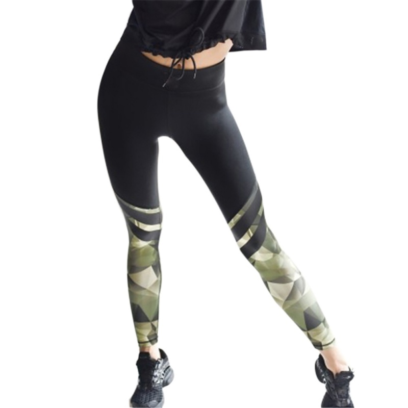 Harajuku Push Up Fitness Legging Camouflage Stripe Bodybuilding Women's leggings Sportswear Athleisure Female Pant Sale 3
