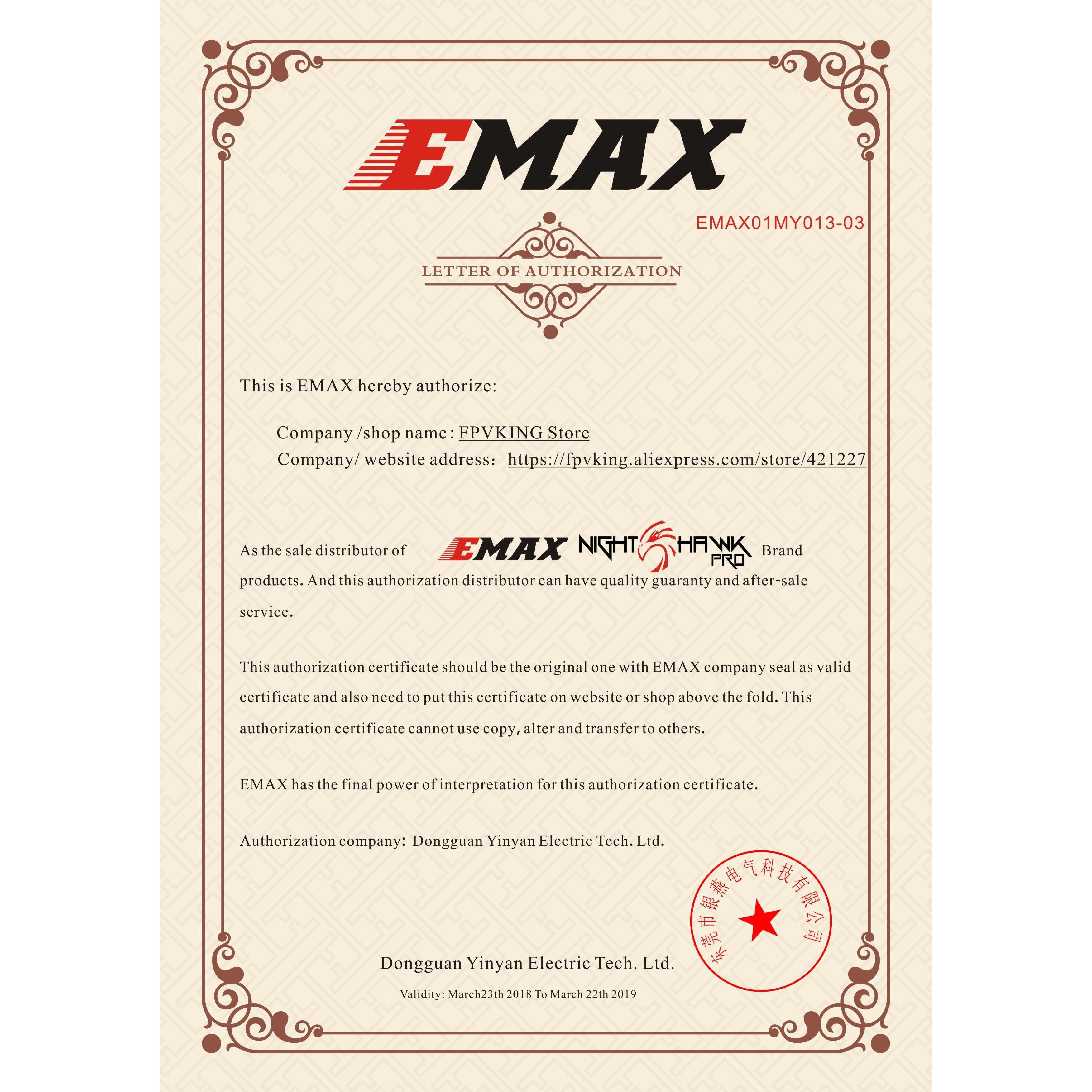 4 unids/lote EMAX Original nuevo FPV BLHeli-S DSHOT bala CES 6A 12A 15A 20A 30A 35A BLHeli s controlador de velocidad para motor RC drone