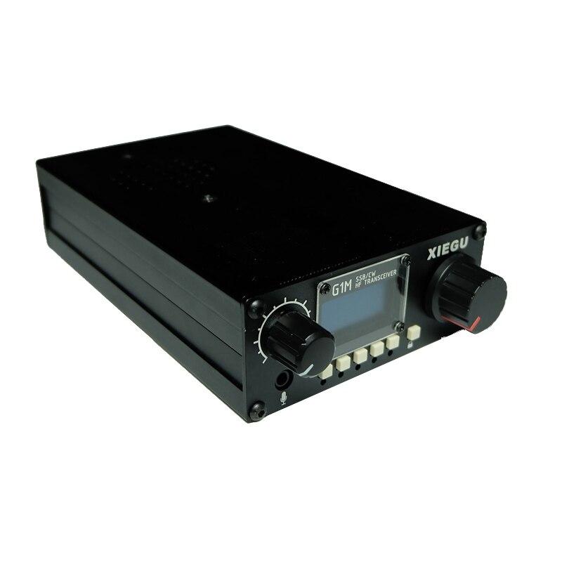 HF Ricetrasmettitore XIEGU G1M 0.5-30MHz SSB/CW 5W Moblie CB Radio Sorella Ham Radio Walkie talkie 10km più X1M