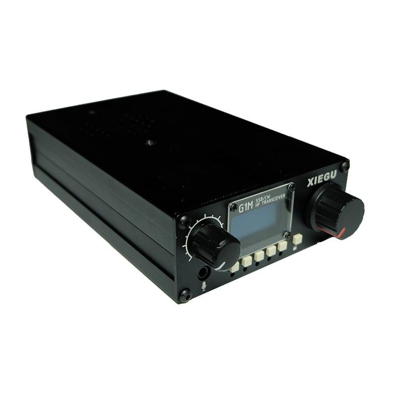 Transceptor HF XIEGU G1M 0,5-30 MHz SSB/CW 5W móvil CB Radio hermana jamón Radio Walkie talkie 10km más X1M