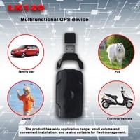 Best seller LED remotely flash control Mini LK120 GPS tracker Pets Tracker Real Time Free Platform APP dog tracker