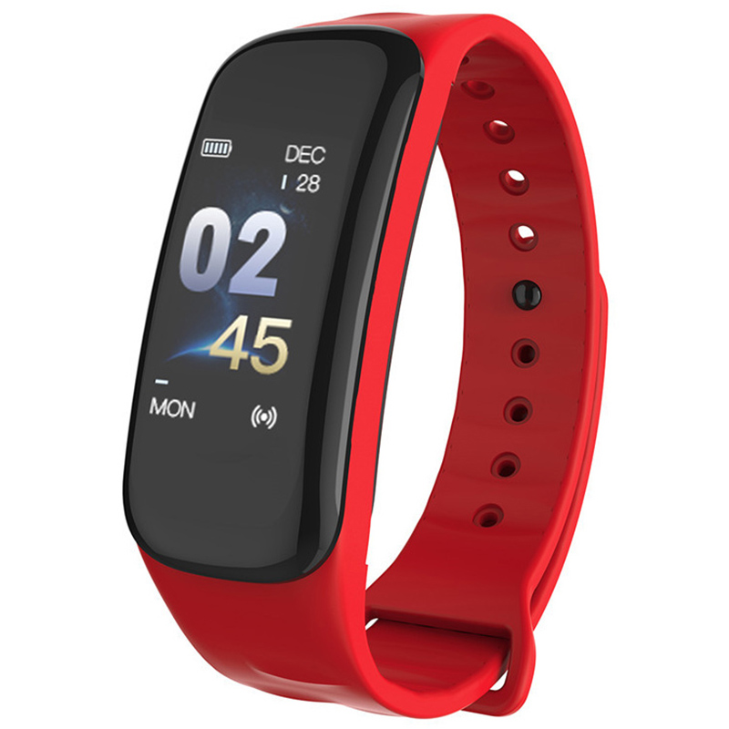 C1S Wearfit Smart Bracelet Watch Blood Pressure Measurement Heart Rate Monitor Cardiaco Fitness Tracker Smart WristbandC1S Wearfit Smart Bracelet Watch Blood Pressure Measurement Heart Rate Monitor Cardiaco Fitness Tracker Smart Wristband