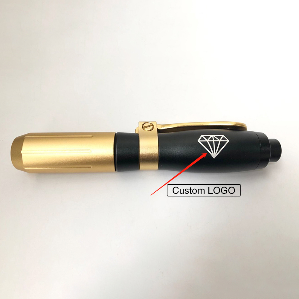 Free Custom LOGO High Pressure Hyaluronic Pen Atomization Injection Anti Wrinkle Hyaluron Mesotherapy Gun Atomizer Beauty Tools