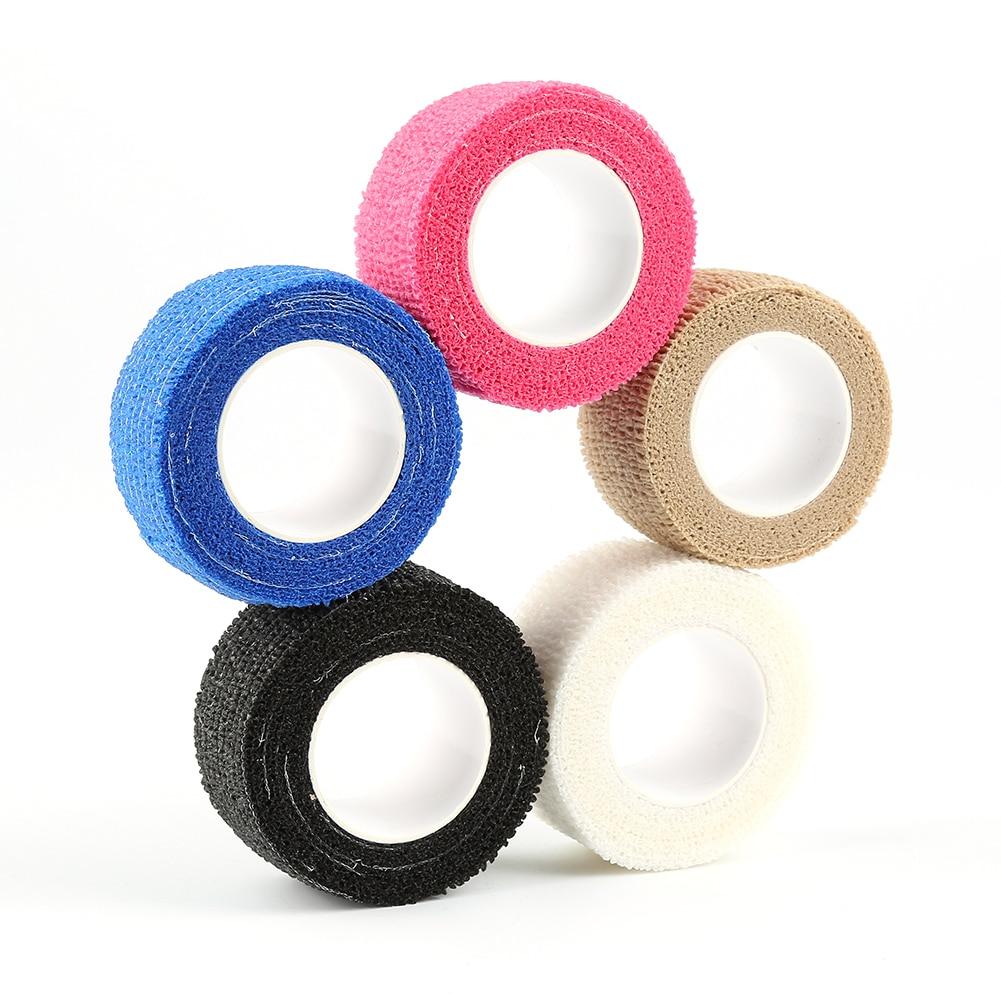 10/5/7.5/2,5 cm * 5m Feste Farbe Bandage Erste Hilfe Kit Gesundheit Pflege Behandlung Gaze Band Sicherheit Selbst-klebstoff Elastische