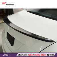 Mercedes W117 carbon fiber rear trunk spoiler for Benz CLA class W117 CLA180 CLA250 CLA200 car styling