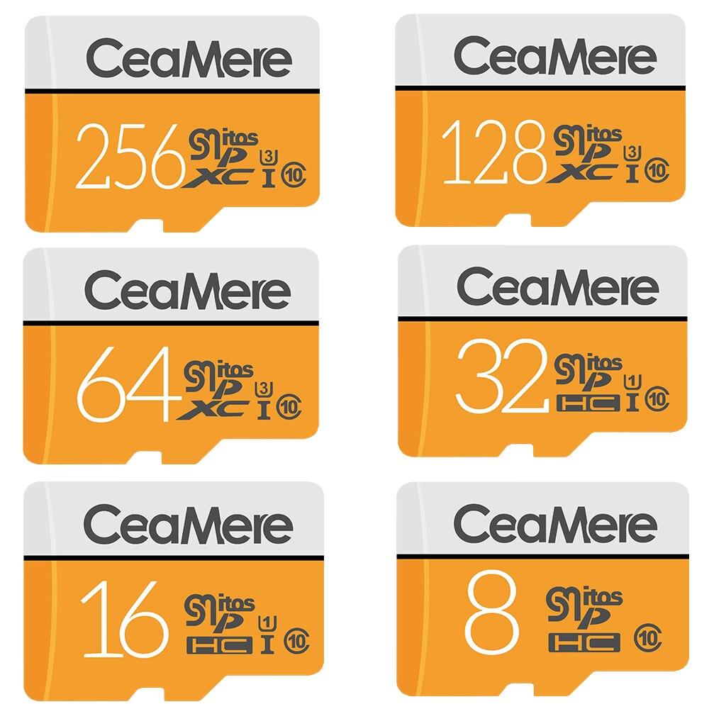 Smare Micro SD карта 32 ГБ Class 10 карт памяти флэш-памяти microsd для смартфонов