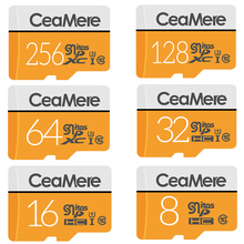 SMARE Micro SD Card 256GB/128GB/64GB UHS-3 32GB/16GB/8GB Class 10 UHS-1 4GB Memory Card Flash Memory Microsd Free Crad Reader
