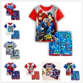 2016 hot Boy's clothing sets spring Baby Sets fleece cotton boy tracksuits Kids sport suits cartoon coats/sweatshirts+pants