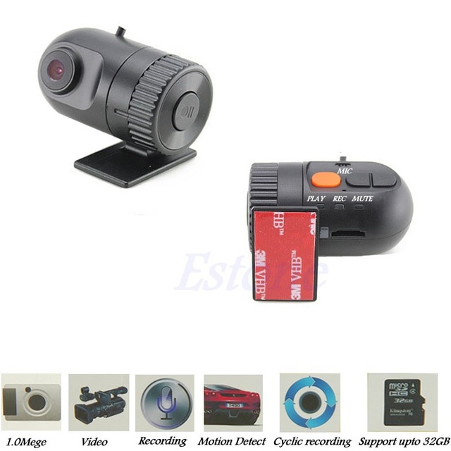 Mini Full HD 1080P Car DVR G-Sensor Video Recorder Vehicle Dash Camera Camcorder