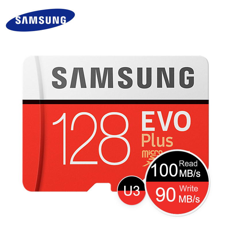Samsung Evo Plus Memory Card 128gb 64gb U3 Sdxc Micro Sd Card 32gb U1 Sdhc Class 10 Microsd Uhs I Tf Cards Up To 95mb 100mbs