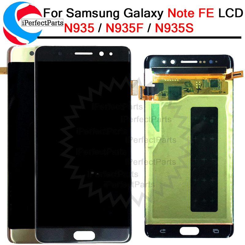 For Samsung Galaxy Note7 note FE 7 N930 N930F LCD display touch screen digitizer frame assembly