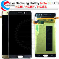For Samsung Galaxy Note7 note FE 7 N930 N930F LCD display touch screen digitizer+frame assembly For Samsung note 7 lcd