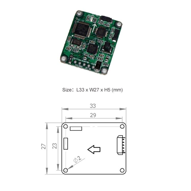 Lec210 2D электронные цифровые Компасы Инклинометр Сенсор точность 2 градусов измерения 0-360 (RS232 RS485 TTL modbus вариант)
