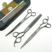 Clippers Pet-Grooming-Scissors Univinlions Dog-Shears Cat-Hair-Set Cutting Professional