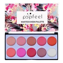 POPFEEL Eye Makeup 10 Color Concealer Blush eye shadow Popular