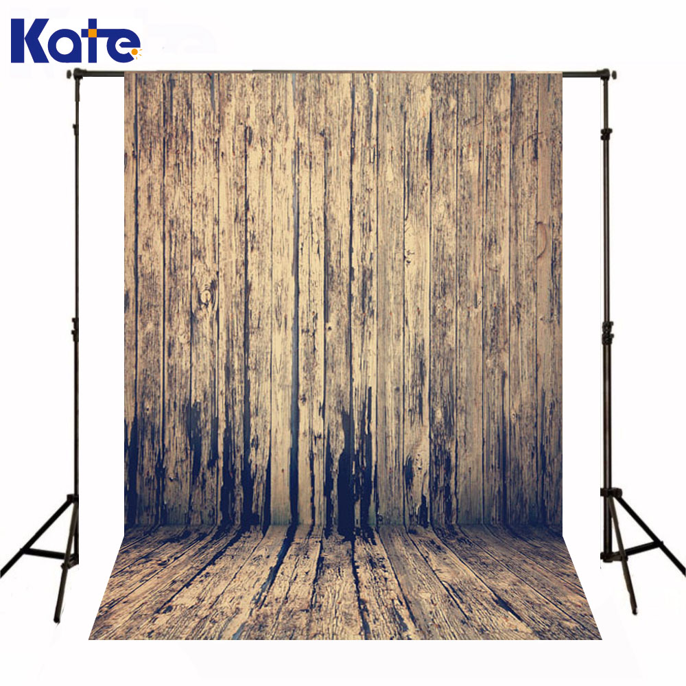 Kate Newborn Baby Photography Backdrop Retro Wooden Wall  Photography Backgrounds Wood Floor Backgrounds For Photo Studio christmas photography backdrop green tree dark wood floor xmas backdrop for newborn kids photo booth backgrounds studio custom