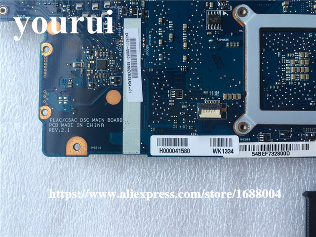 "H000041580 For  Toshiba Satellite S875 C870 L870 L875D C875 L870 L875 C875  laptop motherboard 17.3"" PLAC CSAC DSC Mainboard"