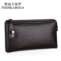2015 New Desigual Brand Leather Purses And Handbags High Quality Business Casual Men Clutch Bag Wallet