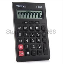 New Truly 283 Calculator Super Slim Calculadora Mini Calculator Business Lloyds Ce Certification 8 Digits Large Screen Display
