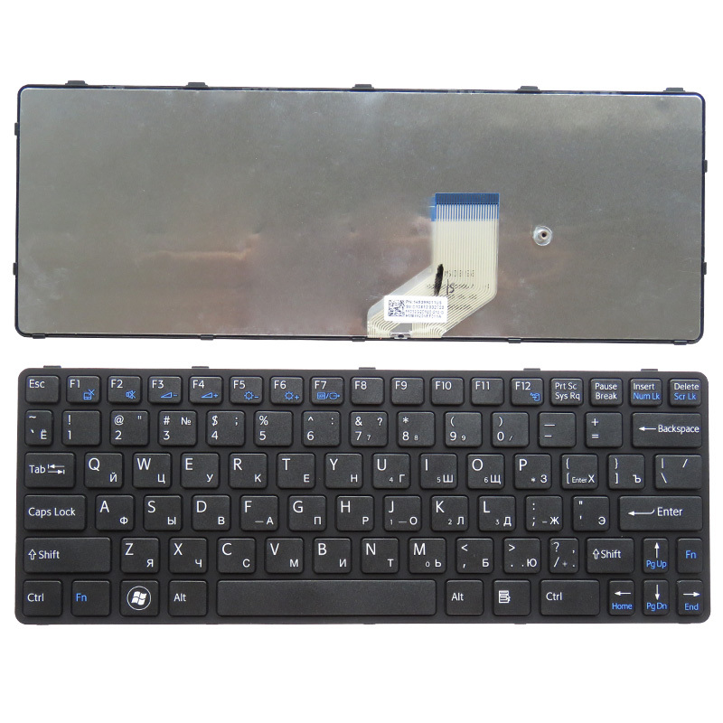 RU Black New FOR SONY SVE 11 SVE11 111A11T 11115CP 11115ECP 11115ECW Laptop Keyboard Russian