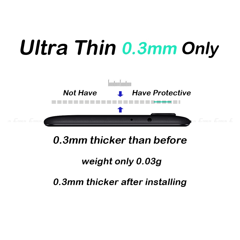 HD Back Camera Lens Tempered Glass Screen Protector For XiaoMi Mi 8 9 A2 Lite PocoPhone F1 Max 3 Mix3 A1 Redmi Note 6 7 5 Pro 7 in Phone Screen Protectors from Cellphones Telecommunications
