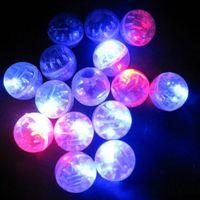 100pcs Small Led Flash Balls Lamp Lantern Balloon Light Party Wedding Decoration Children Luminous Toys (Random Color)