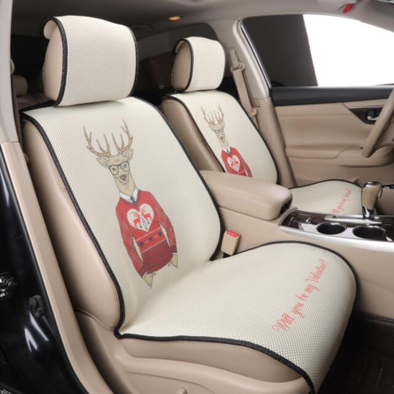 front 2 car seat cover automobiles seat protector for honda crossfit crosstour insight odyssey spirior vezel 2017 2016 2015 2014