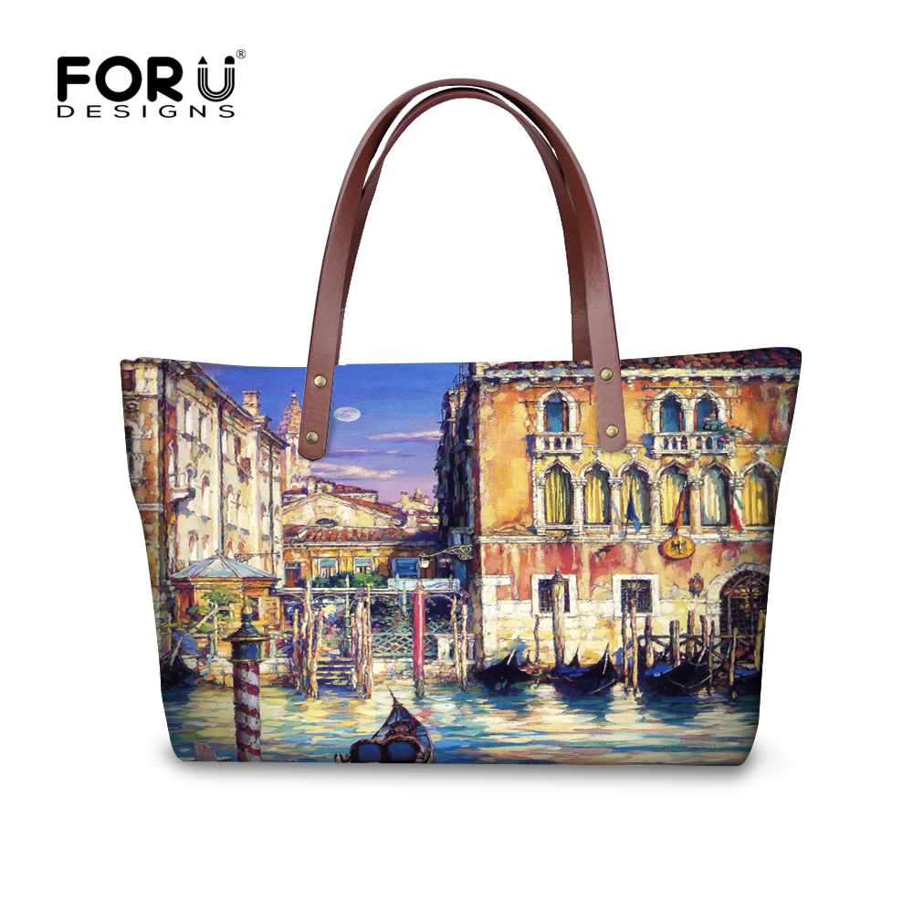 Famous Brands Landscape Designer Bags High Quality Ladies Handbags Female Casual Women Messenger Bags Large Tote