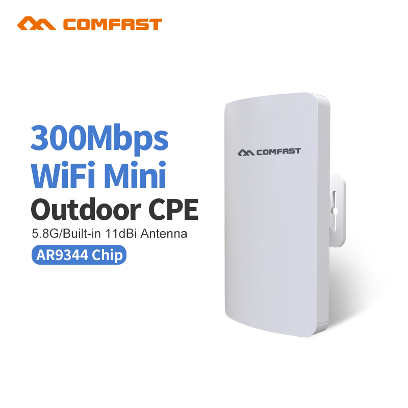 300Mbps WDS 5.8G Mini Wireless Bridge 1-2KM Wireless Distance Wifi Router Outdoor CPE Wifi Extending Monitor Project Partner maxwell mw 1443