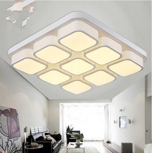 Creative personality art rectangular bedroom living room lamp Nordic fashion modern minimalist ceiling lighting lamps. diesel nuki dz5474