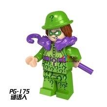 Single star wars building blocks Guardians of the Galaxy DC Riddler model bricks toys hobbies for children brinquedos menino