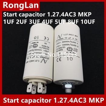 [BELLA] [New Original]  ARCOTRONICS Motor inverter start  capacitor 1.27.4AC3 MKP 1UF 2UF 3UF 4UF 5UF 8UF 10UF цена 2017
