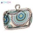 CHICHI New Luxury Handbags Women Designer Evening Clutch Bags Messenger Ladies Hand Bags Finger Ring Wedding Small Cross Body