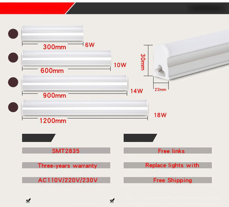 pvc plastic led tube t5 light 30cm 60cm 110v 220v 240v led fluorescent tube led t5 tube lamps 6w. Black Bedroom Furniture Sets. Home Design Ideas