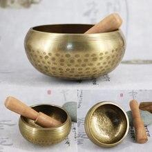 Тибетская Поющая чаша декоративная настенная посуда для дома