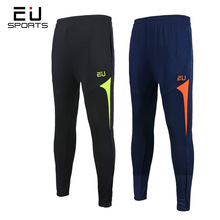 Sport Wear for Men Soccer Training Pants Solid Dry Fit Breathable Elastic Jogging Running Football Pants Gym Sports Leggings Men