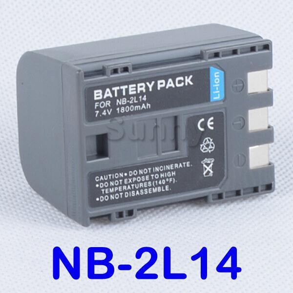 BP 2L14 Battery For Canon ZR100,ZR200,ZR300,ZR400,ZR500,ZR600,ZR700, ZR800,ZR830,ZR850, ZR900,ZR930,ZR950,ZR960 MiniDV Camcorder