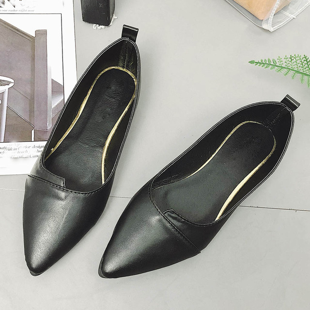 SAGACE Shoes Women Ladies Fashion Solid Pointed Toe Heel Single Shoes Casual Loafers high quality new shoes woman 2018dec8