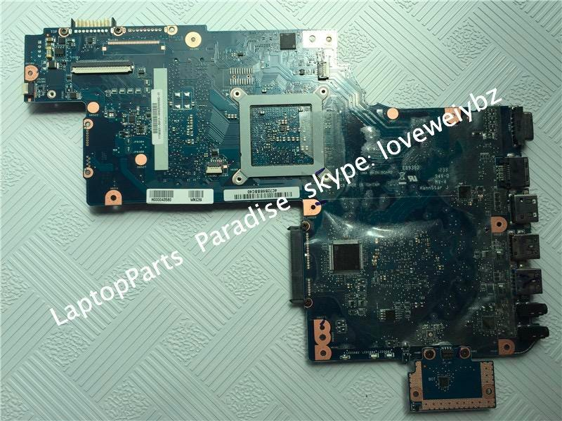 H000043580 laptop motherboard for toshiba Satellite C875D L870 L875 C875 PLAC CSAC UMA main board 3