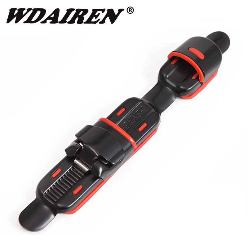1Pcs Metal Reel Seat Deck Fishing Rod Clip Fitted Wheel Reel Accessory Rock Fishing Tackle Accessories WD-543