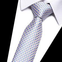 Mens tie Formal ties business wedding Neckties Classic casual style bow corbatas  plaid paisley Fashion dress man necktie