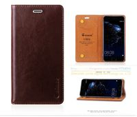 Original Aimak Brand Top Quality Genuine Leather Stand Fashion Book Style Phone Bag Case For Huawei Nova Lite / Huawei P10 Lite